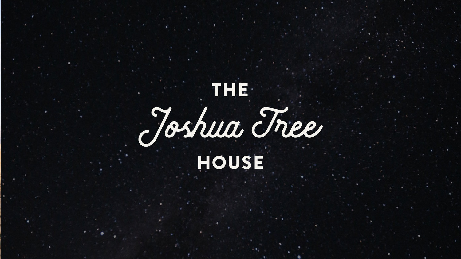 The Joshua Tree House Playlist on Spotify